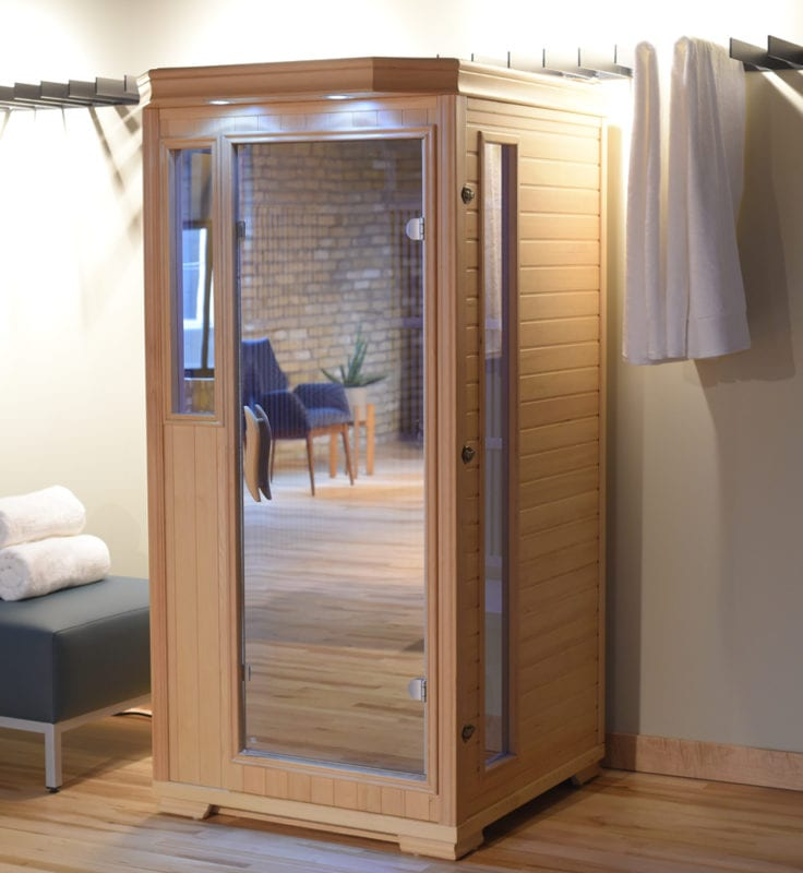 GHS 1 Person Empty Lifestyle saunas