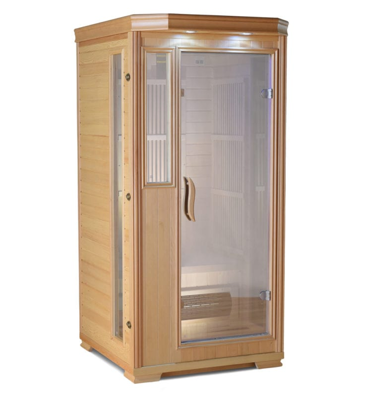 One Person Infrared Sauna Good Health Saunas