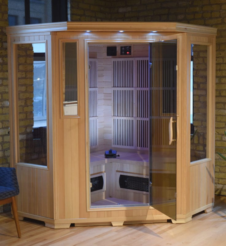 GHS 3 Person Corner Empty Lifestyle saunas