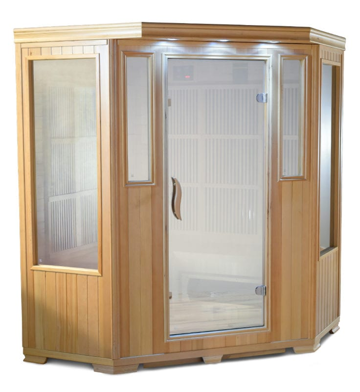 GHS-3-Person-Corner-Sauna-on-White saunas