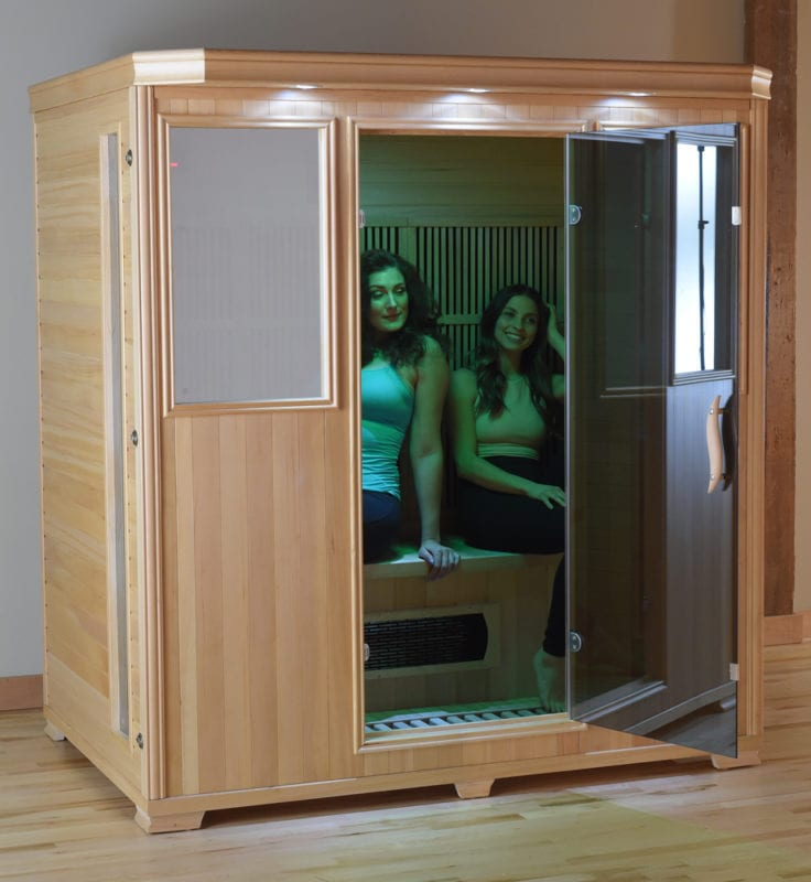 GHS 4 Person Lifestyle saunas