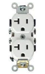 20-amp, 110-volt outlet for infrared sauna
